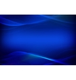 abstract blue background glowing lines vector image