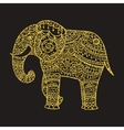 Decorative elephant vector image vector image