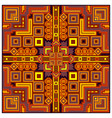 ethnic colorful abstract design decorative vector image vector image