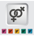 Lesbian sign vector image vector image