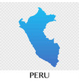 peru map in south america continent design vector image vector image