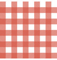 plaid tablecloth seamless pattern vector image vector image