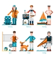 Summer Rest Icons vector image vector image