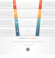 template infographic strips 4 position vector image vector image