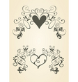 Vintage heart vector | Price: 1 Credit (USD $1)