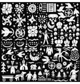 fairy tales - icons set vector image