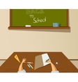 Back to school drawing vector image vector image