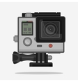 Camera for active Extreme sports vector image