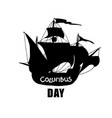 columbus day concept vector image vector image