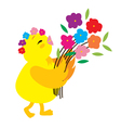 Cute Chick 4 vector image vector image