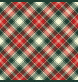 fabric texture check plaid seamless pattern vector image vector image
