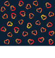 Festive Background for Valentines Day Pattern vector image
