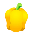 icon bell pepper vector image vector image
