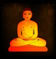 jain festival mahavir jayanti vector image vector image
