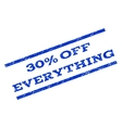 30 Percent Off Everything Watermark Stamp