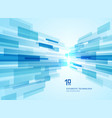 abstract perspective futuristic technology vector image vector image