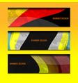 banner design texture vector image vector image