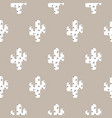 cactus scandinavian print seamless pattern vector image vector image