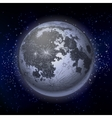 Graphic full moon vector image