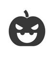 jack o lantern halloween solid icon vector image