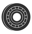 metal bearing icon simple style vector image vector image
