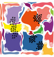 modern abstract bright color avant garde vector image