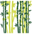 monochrome bamboo background vector image