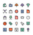 SEO and Marketing Icons 4 vector image vector image