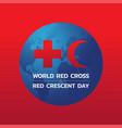 bangkok april 28 world red cross and red vector image vector image