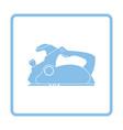 electric planer icon vector image vector image