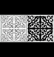 Kazakh ornament vector image vector image