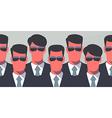Secret service agents vector image