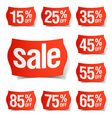 Discount price tags vector | Price: 1 Credit (USD $1)