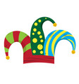 harlequin hat image vector image vector image