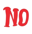 No inscription icon cartoon style vector image
