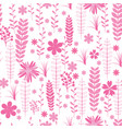 vintage romantic trendy seamless pattern vector image vector image