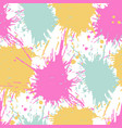 abstract seamless pattern with watercolor spots vector image vector image