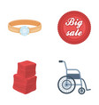 advertising medicine trade and other web icon in vector image vector image