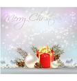 christmas bk3 vector image vector image