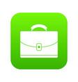 diplomat icon digital green vector image