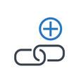 Link building glyph icon