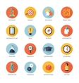 Strategy Icons Set vector image vector image