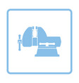vise icon vector image vector image