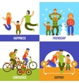 Family Design Concept vector image