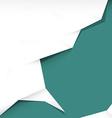 Paper Retro Blue Background vector image