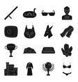 accessory booty clothing and other web icon in vector image vector image