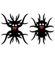 Cute strange creatures Isolated vector image