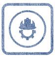 development helmet fabric textured icon vector image vector image