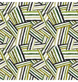 Hand drawn lines seamless pattern vector image