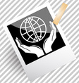 protection world vector image vector image